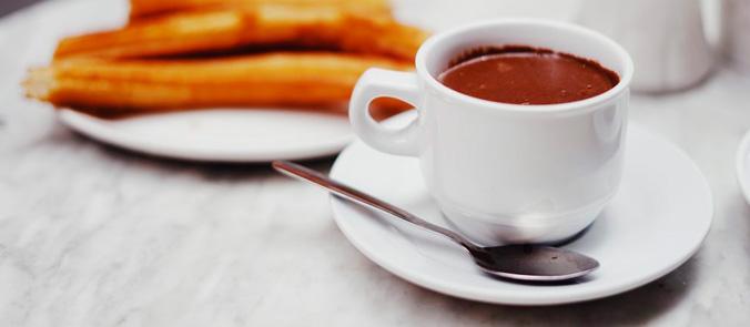 Tipos de chocolate a la taza