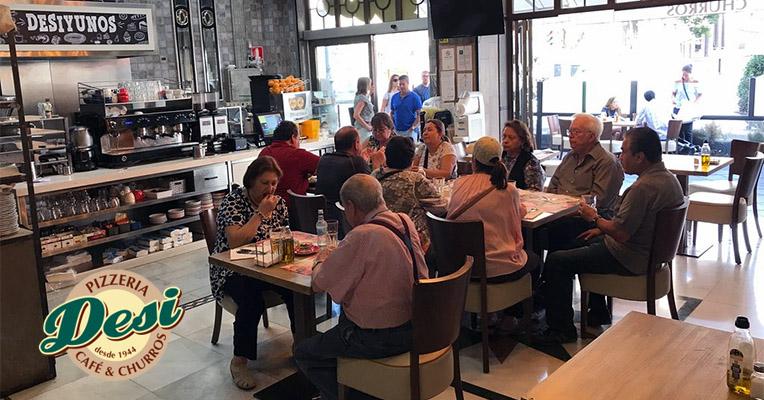 Cafeteria centro Granada Churrería Desi